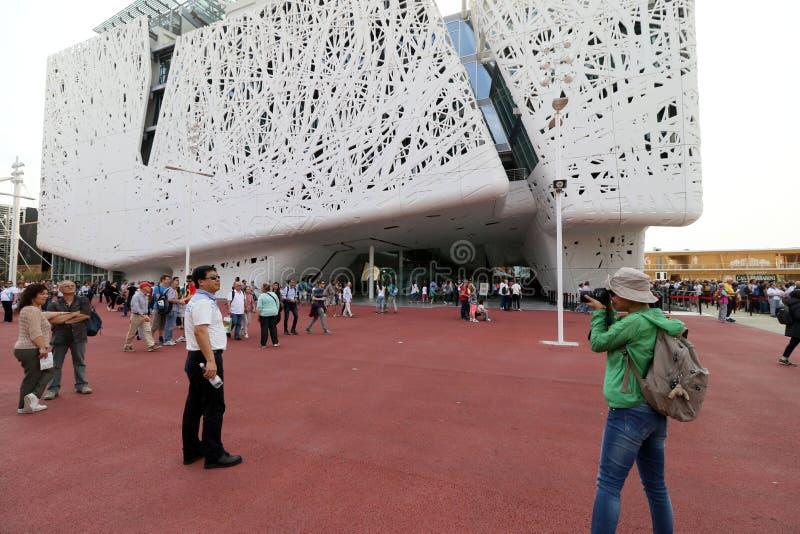 Μιλάνο EXPO, Ιταλία στοκ φωτογραφία