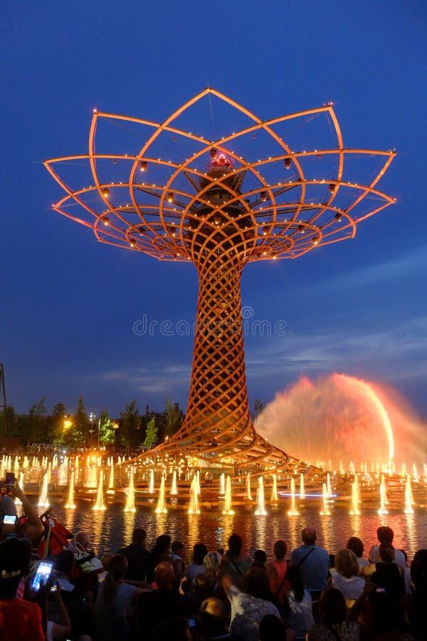 Μιλάνο EXPO Ρωσία στοκ φωτογραφία