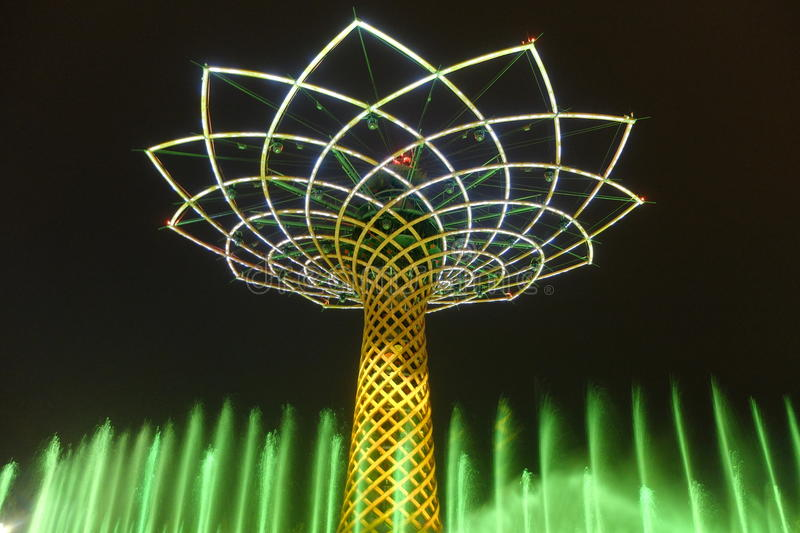 Μιλάνο EXPO Ρωσία στοκ εικόνα