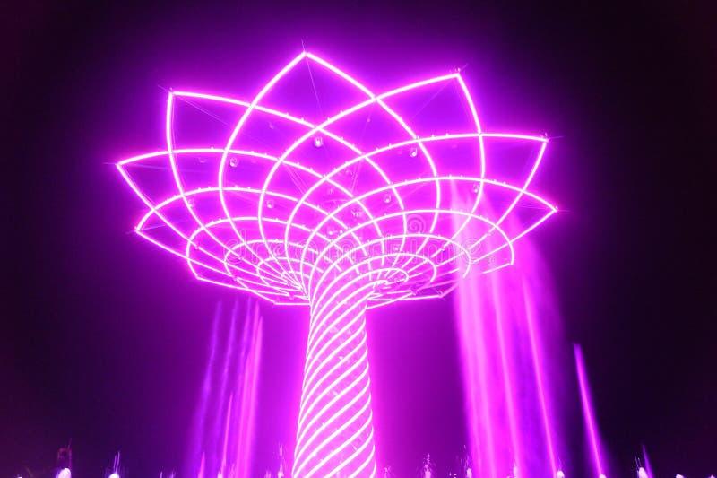 Μιλάνο EXPO στοκ εικόνα