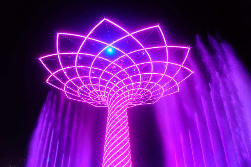 Μιλάνο EXPO στοκ φωτογραφία με δικαίωμα ελεύθερης χρήσης