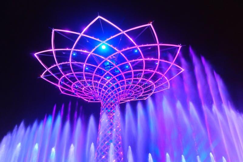 Μιλάνο EXPO στοκ εικόνες