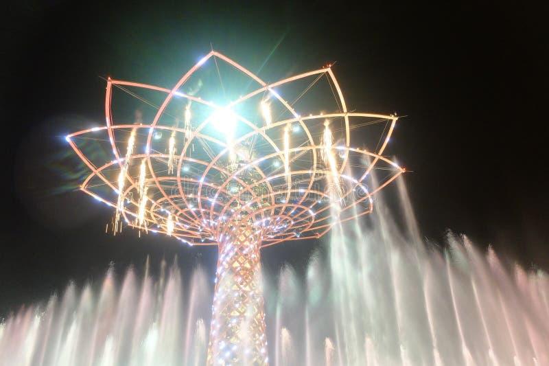 Μιλάνο EXPO στοκ φωτογραφία