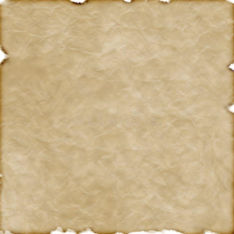 μμένο παλαιό έγγραφο διανυσματική απεικόνιση