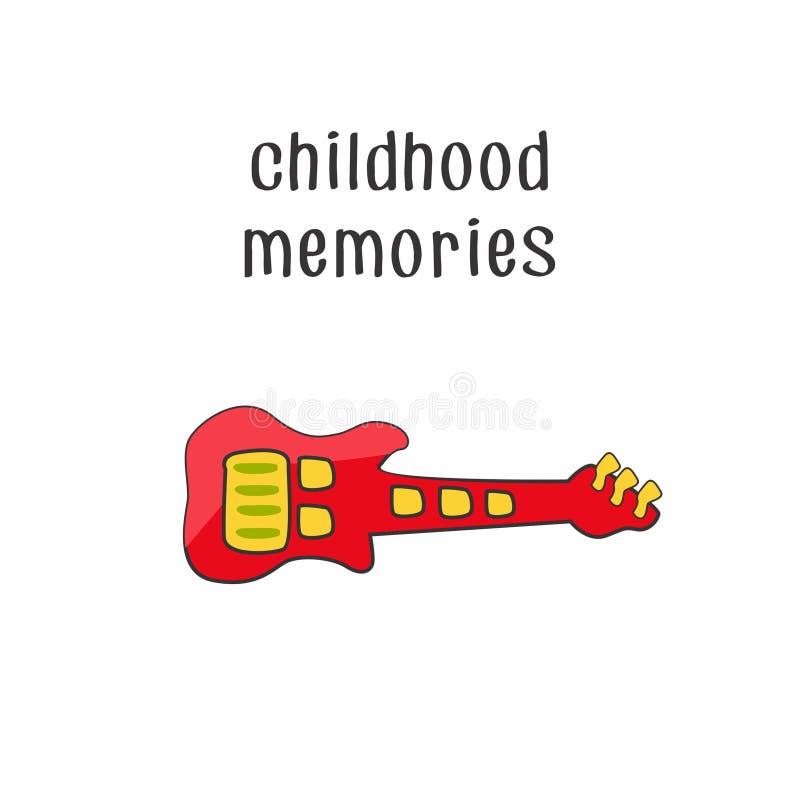 Μνήμες 3 παιδικής ηλικίας στοκ εικόνα με δικαίωμα ελεύθερης χρήσης