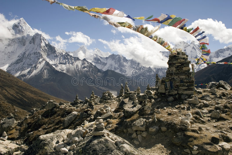 μνημεία Νεπάλ chukpilhara στοκ εικόνες με δικαίωμα ελεύθερης χρήσης