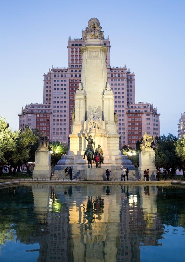 Μνημεία της Μαδρίτης Επίσκεψη της Ισπανίας Ταξίδι γύρω από την Ευρώπη στοκ φωτογραφίες με δικαίωμα ελεύθερης χρήσης