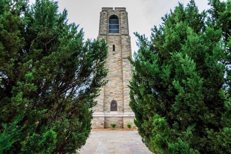 Μνημείο άνηθου του Joseph πάρκων Baker σε στο κέντρο της πόλης ιστορικό Federick, στοκ φωτογραφίες