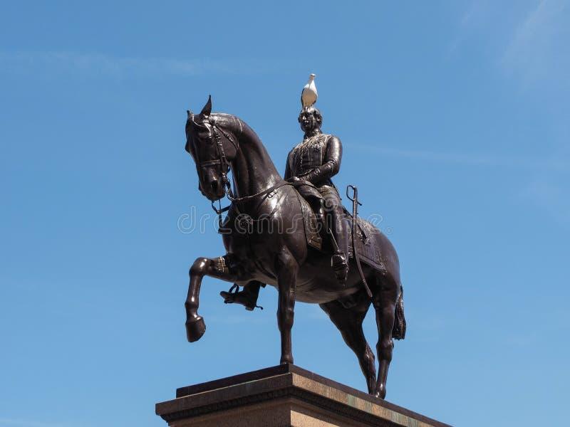 Μνημείο Αλβέρτου πριγκήπων στη Γλασκώβη στοκ φωτογραφίες