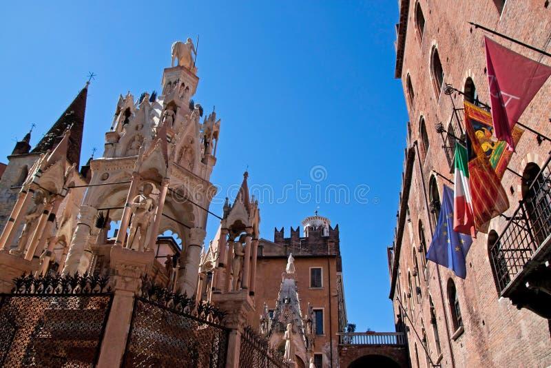 Μνημείο αρχιτεκτονικής της Βερόνα στοκ φωτογραφία με δικαίωμα ελεύθερης χρήσης