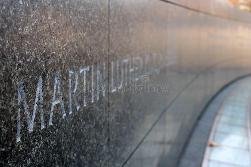 Μνημείο βασιλιάδων του Martin luther jr στοκ εικόνες