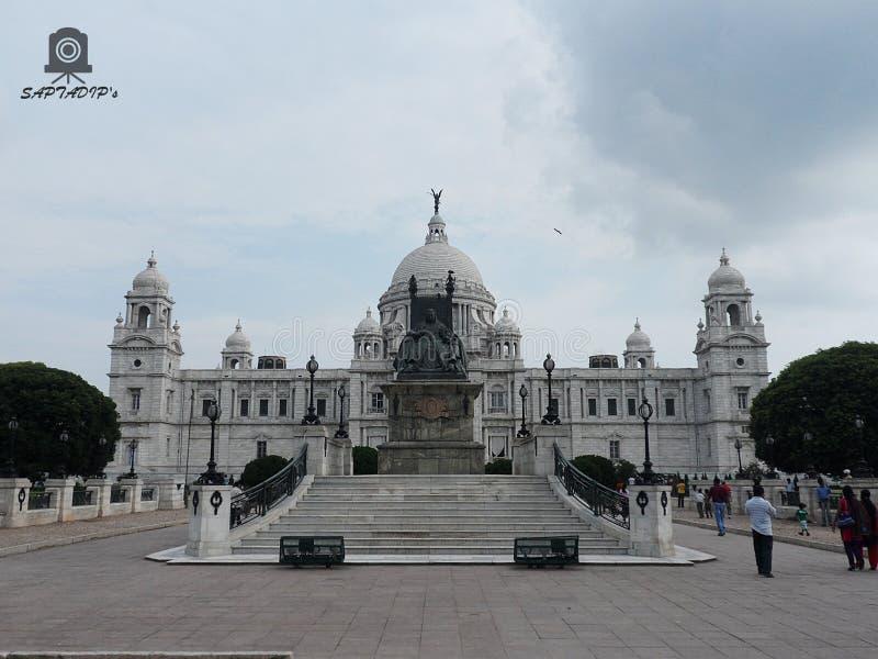 Μνημείο Βικτώριας Kolkata, Ινδία στοκ εικόνα με δικαίωμα ελεύθερης χρήσης