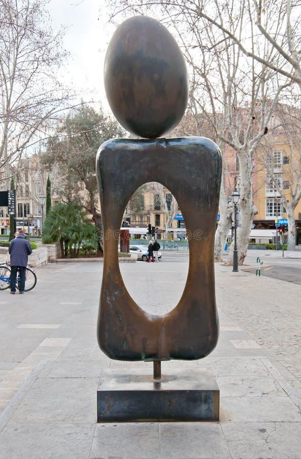 Μνημείο γλυπτών Miro στοκ εικόνες