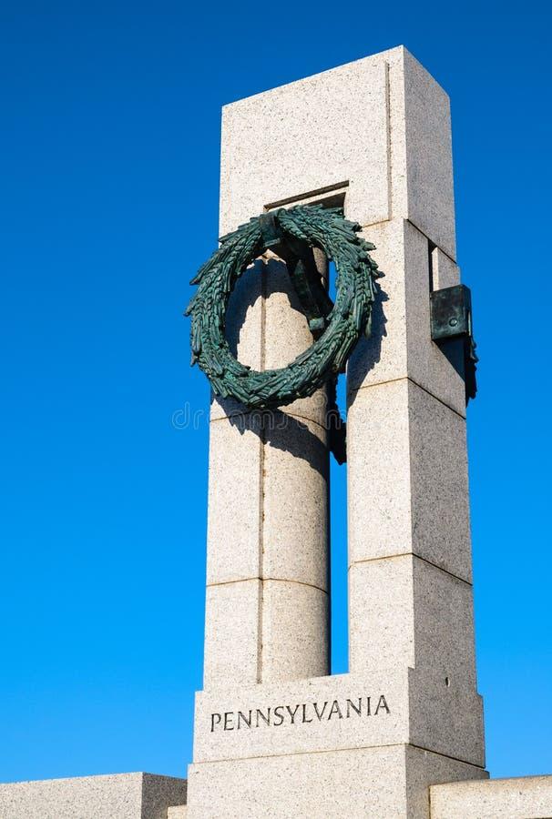 Μνημείο Δεύτερου Παγκόσμιου Πολέμου στοκ εικόνες
