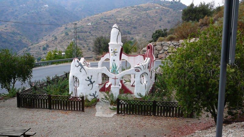 Μνημείο ειρήνης Sayalonga στοκ εικόνες