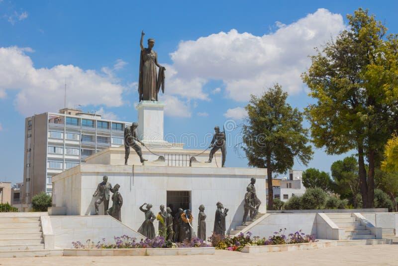 Μνημείο ελευθερίας, Λευκωσία στοκ εικόνα με δικαίωμα ελεύθερης χρήσης