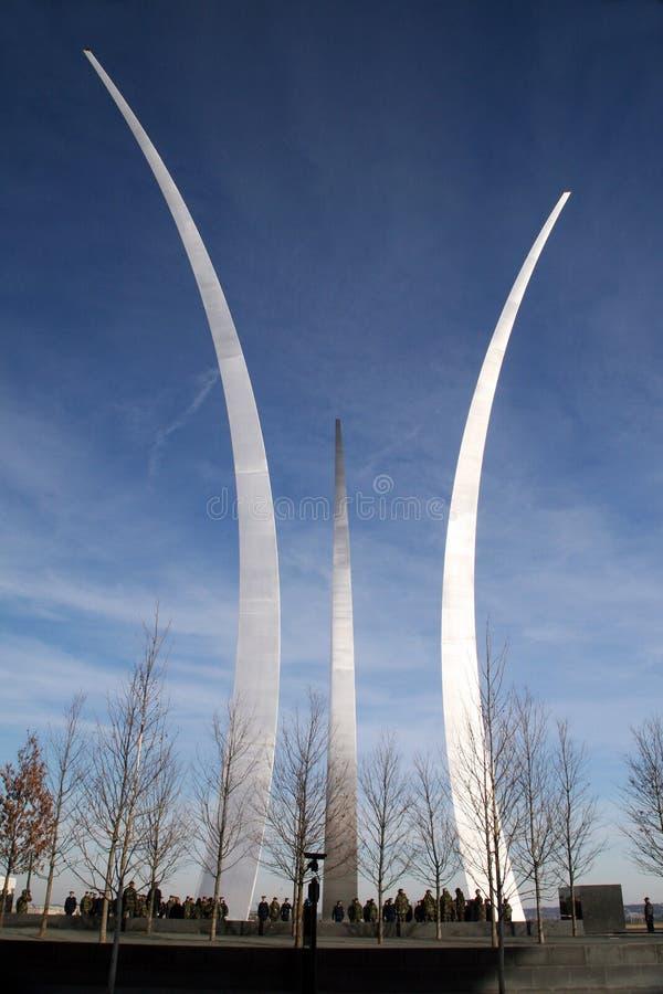 Μνημείο Ηνωμένης Πολεμικής Αεροπορίας στοκ φωτογραφία με δικαίωμα ελεύθερης χρήσης
