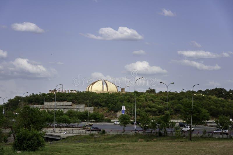 Μνημείο Ισλαμαμπάντ του Πακιστάν στοκ φωτογραφίες με δικαίωμα ελεύθερης χρήσης