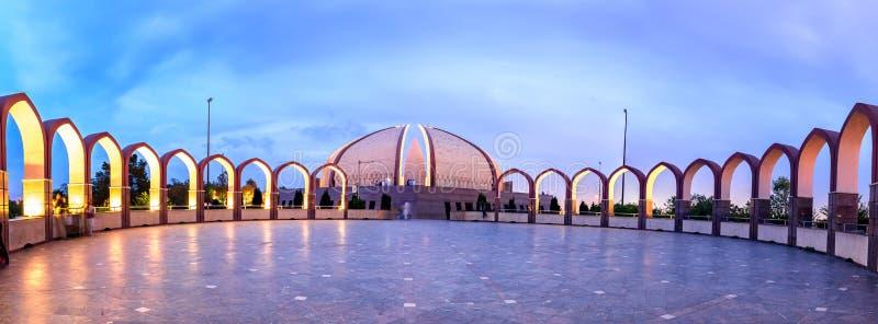 Μνημείο Ισλαμαμπάντ του Πακιστάν στοκ φωτογραφίες