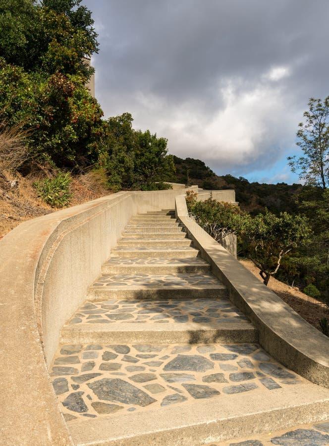 Μνημείο και βοτανικοί κήποι Wrigley στη Catalina Island στοκ εικόνες