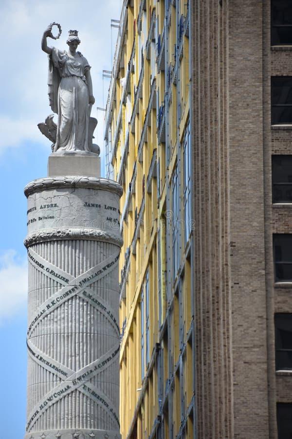 Μνημείο μάχης στη Βαλτιμόρη στοκ εικόνες