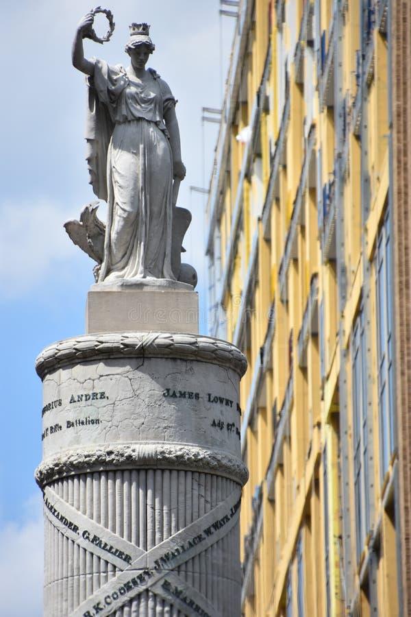 Μνημείο μάχης στη Βαλτιμόρη στοκ φωτογραφία με δικαίωμα ελεύθερης χρήσης