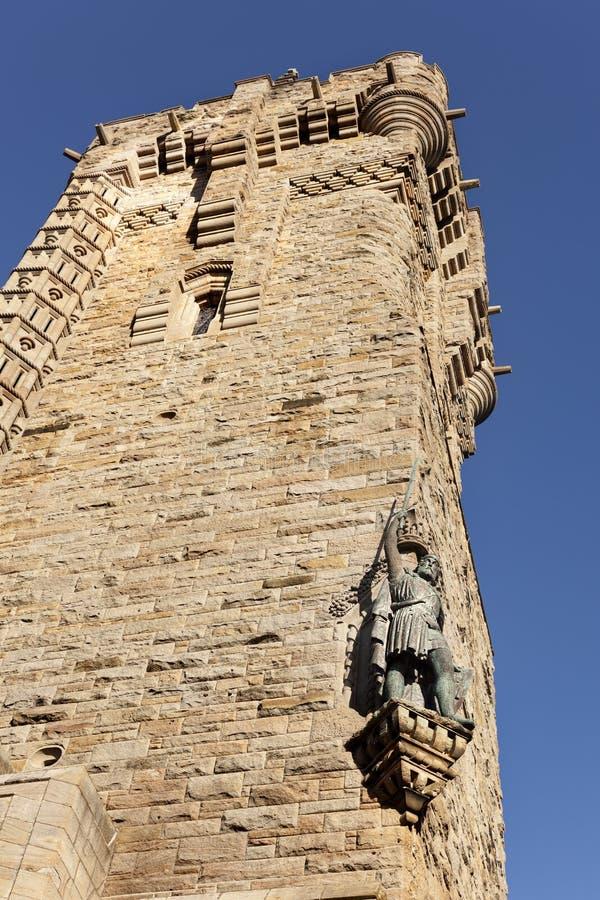 Μνημείο, μνημείο Wallace, Σκωτία, Stirling, μνήμες, Vertic στοκ εικόνες