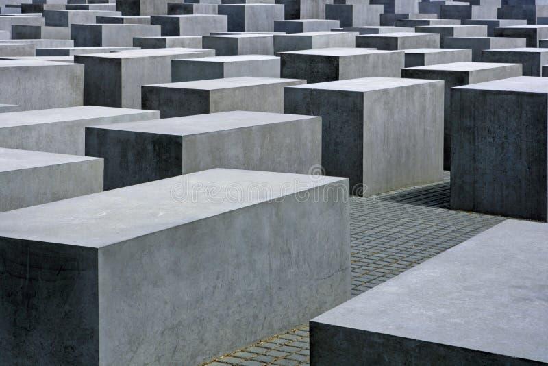 Μνημείο ολοκαυτώματος στο Βερολίνο, Γερμανία στοκ φωτογραφίες με δικαίωμα ελεύθερης χρήσης