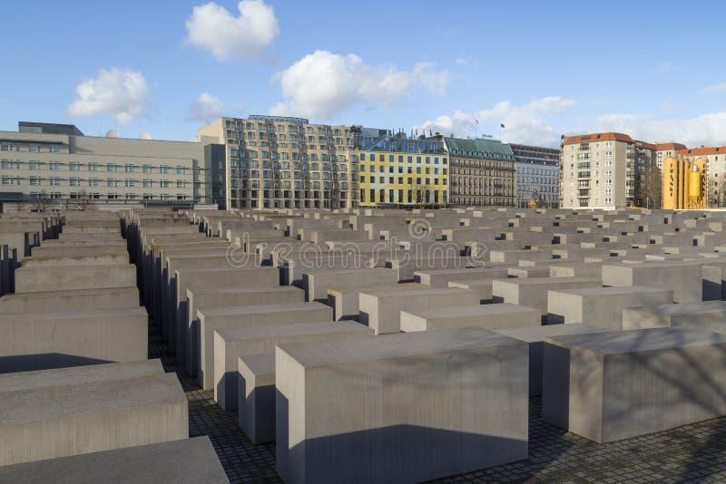 Μνημείο ολοκαυτώματος στο Βερολίνο, Γερμανία στοκ φωτογραφία με δικαίωμα ελεύθερης χρήσης