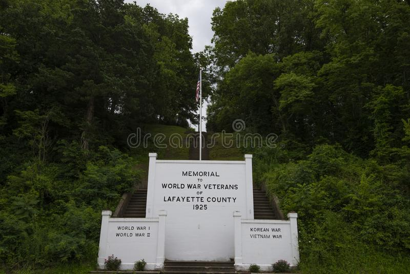 Μνημείο οπλισμένων δυνάμεων στοκ φωτογραφίες με δικαίωμα ελεύθερης χρήσης