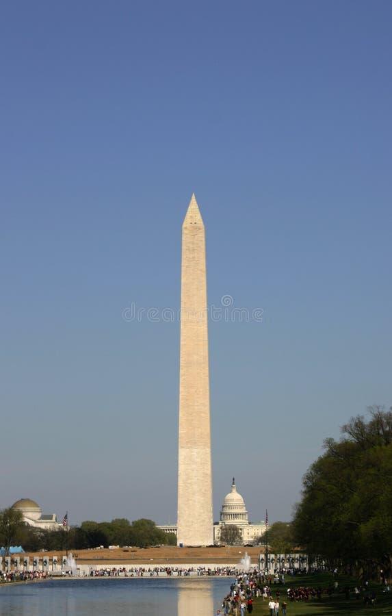 μνημείο Ουάσιγκτον capitol στοκ εικόνες