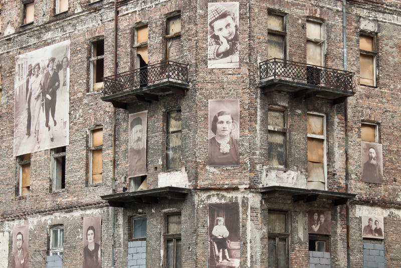 Μνημείο ολοκαυτώματος στη Βαρσοβία, Πολωνία στοκ φωτογραφία με δικαίωμα ελεύθερης χρήσης