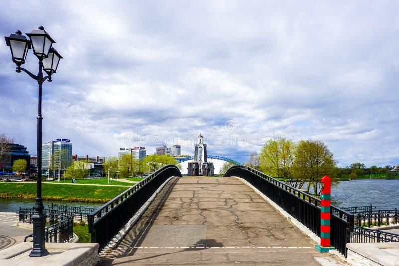 Μνημείο πατρικών γών του Μινσκ στοκ φωτογραφία με δικαίωμα ελεύθερης χρήσης