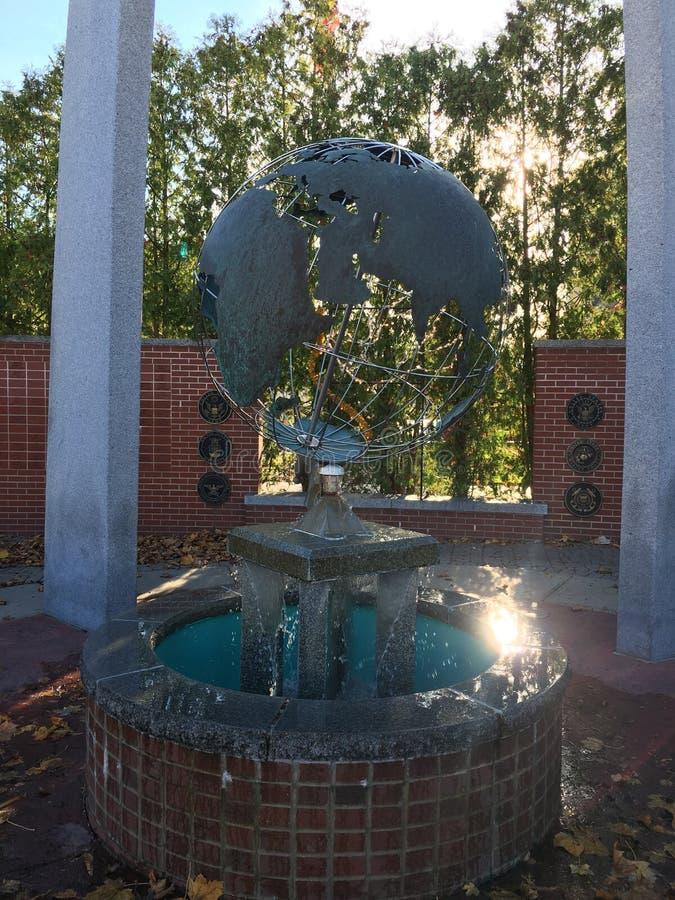 Μνημείο παλαιμάχου στοκ φωτογραφία
