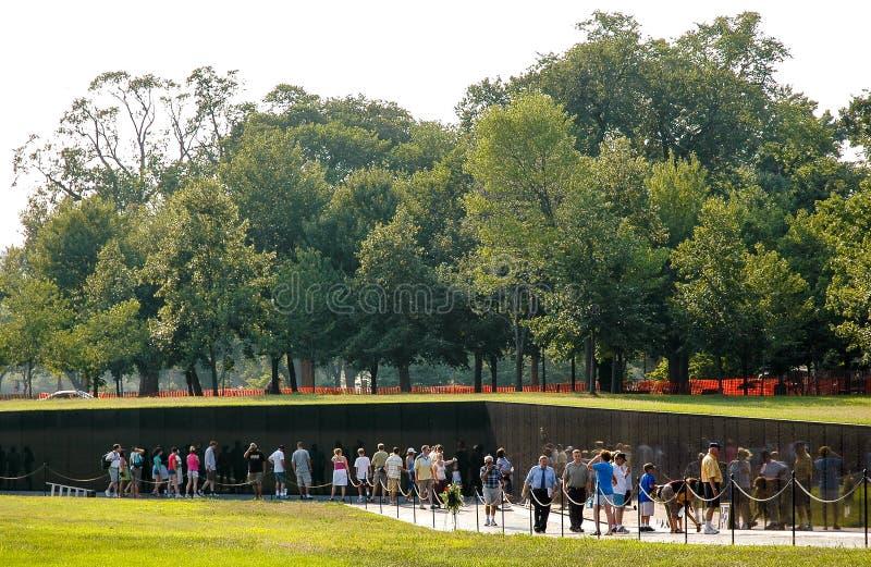 Μνημείο παλαιμάχων του Βιετνάμ στοκ φωτογραφίες