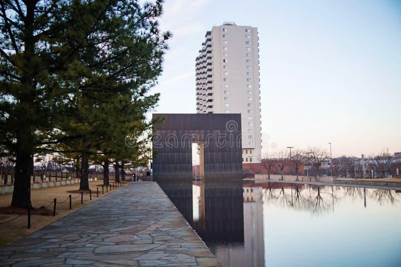 Μνημείο Πόλεων της Οκλαχόμα στοκ φωτογραφία με δικαίωμα ελεύθερης χρήσης