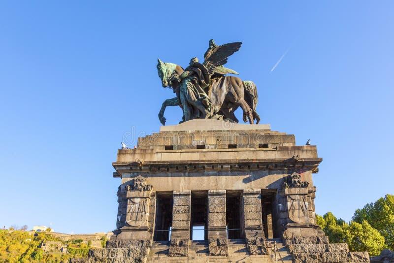 Μνημείο σε Kaiser Wilhelm I στοκ φωτογραφίες με δικαίωμα ελεύθερης χρήσης