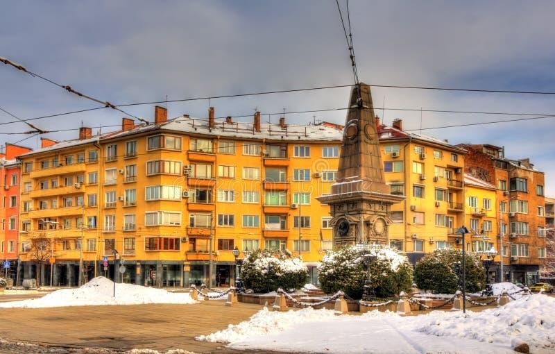 Μνημείο σε Vasil Levski στη Sofia στοκ εικόνα με δικαίωμα ελεύθερης χρήσης