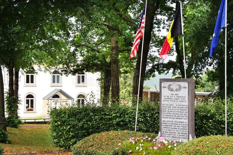Μνημείο σε Wanne στοκ φωτογραφίες με δικαίωμα ελεύθερης χρήσης