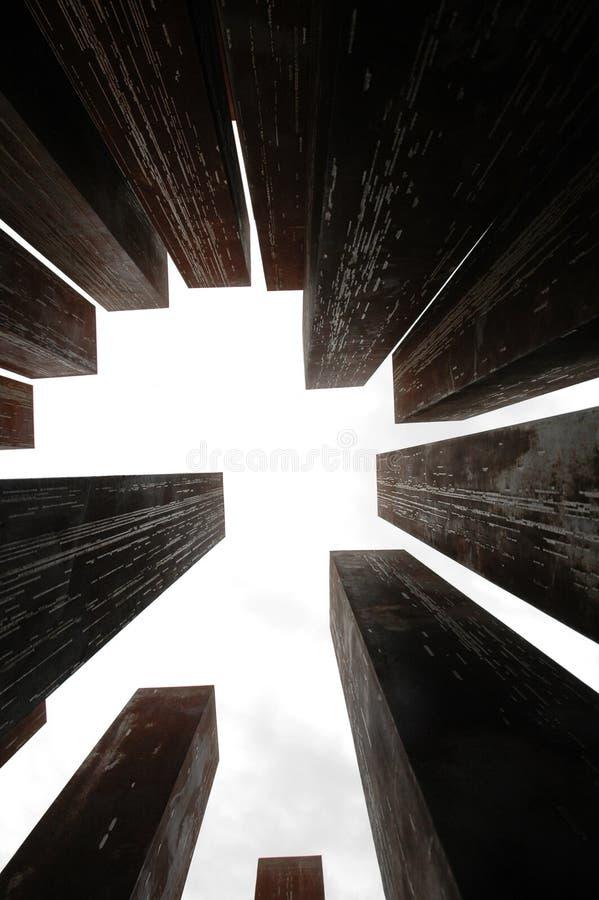 μνημείο στηλών στοκ εικόνα