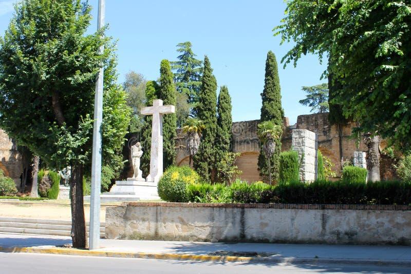 Μνημείο στον πεσμένο ήρωα, Badajoz, Ισπανία στοκ εικόνα