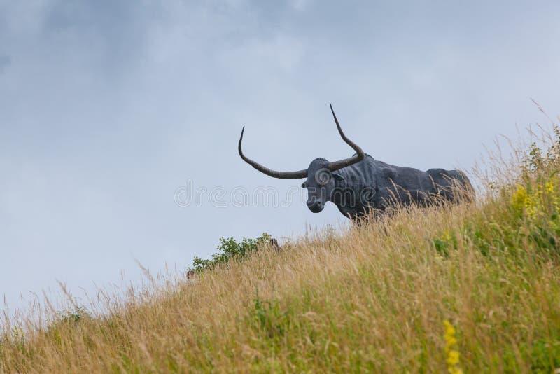 Μνημείο στον ταύρο στοκ φωτογραφία με δικαίωμα ελεύθερης χρήσης