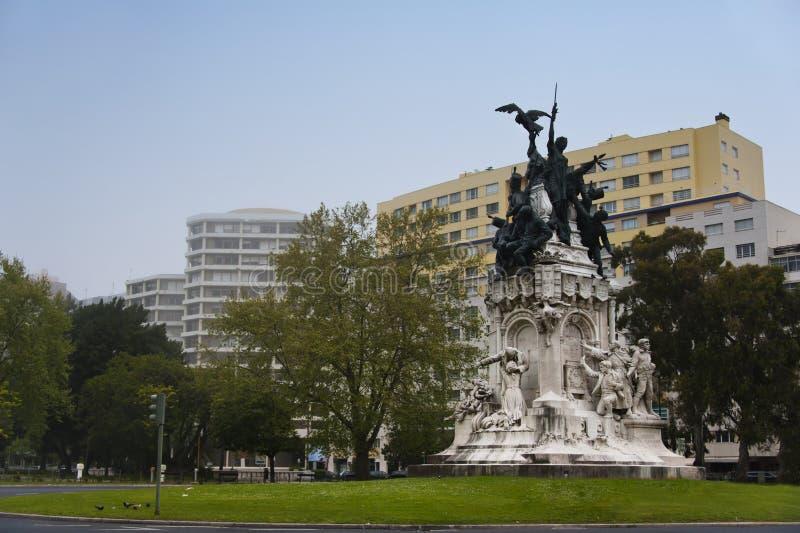 Μνημείο στους ήρωες του χερσονήσιου πολέμου, Λισσαβώνα στοκ φωτογραφίες με δικαίωμα ελεύθερης χρήσης
