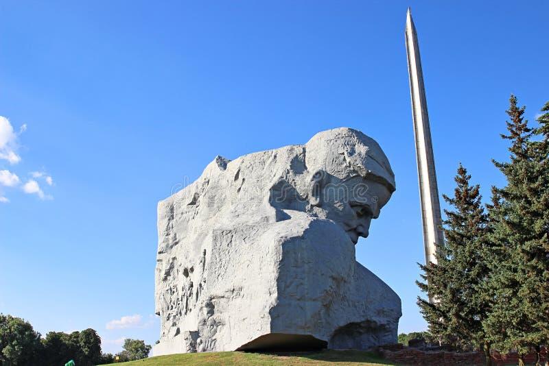 Μνημείο στους πεσμένους υπερασπιστές του φρουρίου του Brest στοκ εικόνες