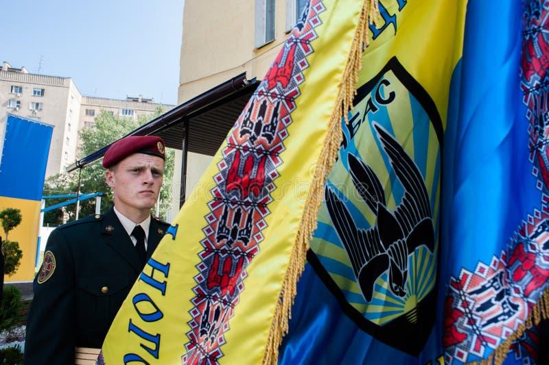 Μνημείο στους στρατιώτες της εθνικής φρουράς στοκ εικόνα με δικαίωμα ελεύθερης χρήσης
