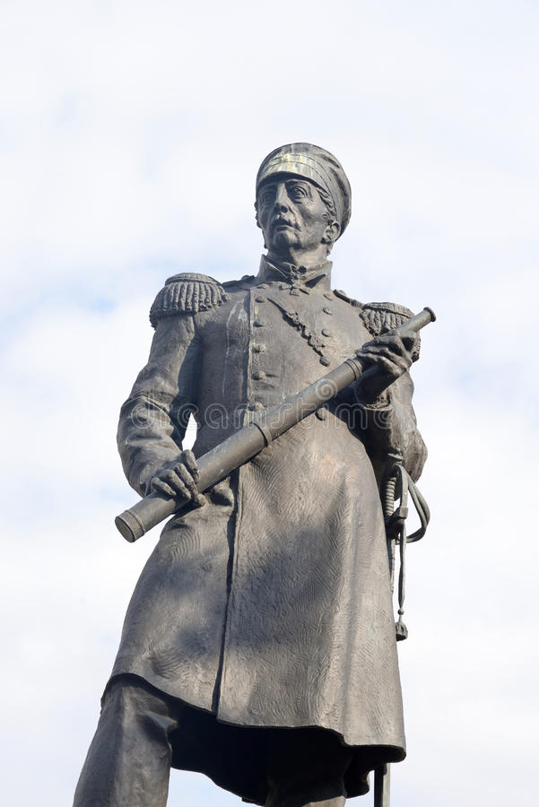 Μνημείο στο ναύαρχο Pavel Nakhimov στοκ φωτογραφίες με δικαίωμα ελεύθερης χρήσης