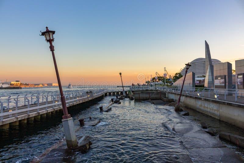 Μνημείο στο σεισμό του 1995, λιμάνι του Kobe, Ιαπωνία στοκ εικόνες