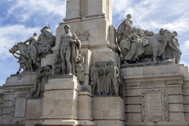 Μνημείο στο σύνταγμα 1812, διακοσμητική λεπτομέρεια στοκ φωτογραφία