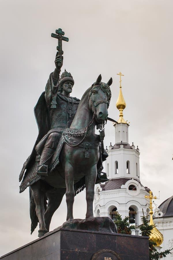 Μνημείο στο Ivan ο φοβερός στοκ φωτογραφίες με δικαίωμα ελεύθερης χρήσης