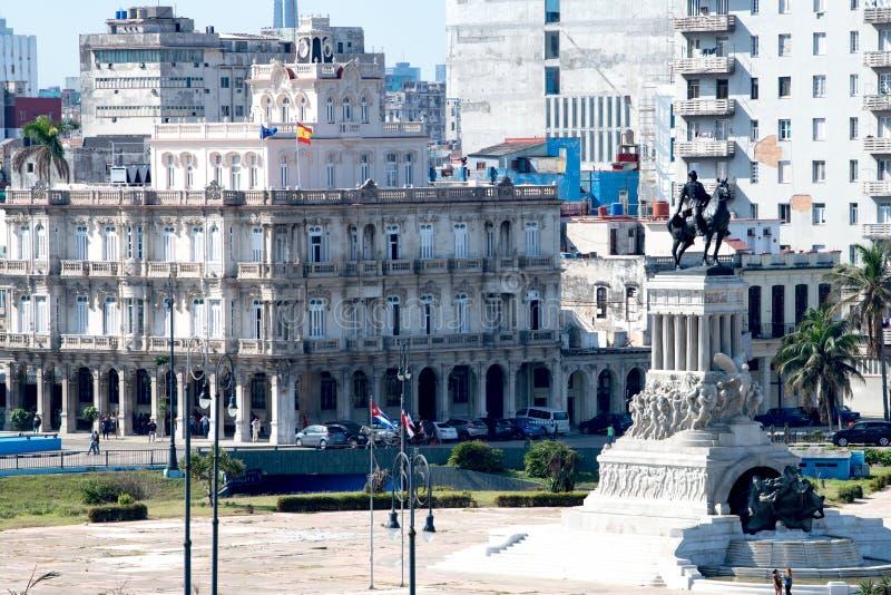 Μνημείο στρατηγός Maximo Gomez, Αβάνα, Κούβα στοκ φωτογραφίες